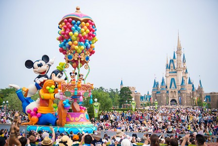 ディズニーパレード