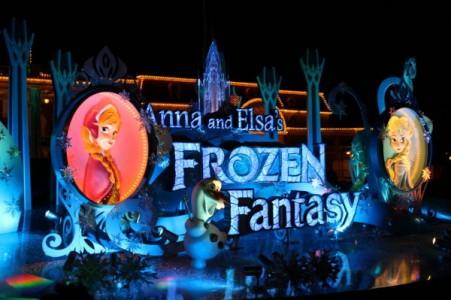 アナと雪のフローズンファンタジー夜のイメージ