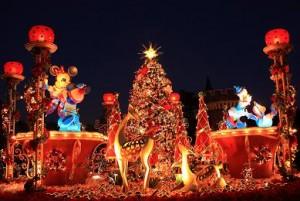 クリスマスディズニーの様子