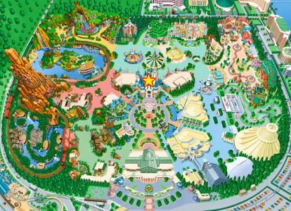 シンデレラのフェアリーテイルホール地図