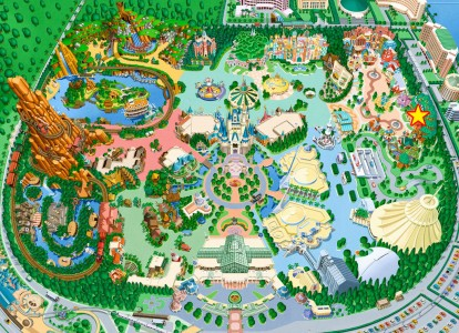 ミート・ミッキー地図