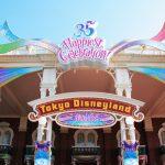先取り!35周年の東京ディズニーランドに行ってきました!