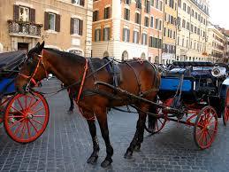 イタリアの馬車